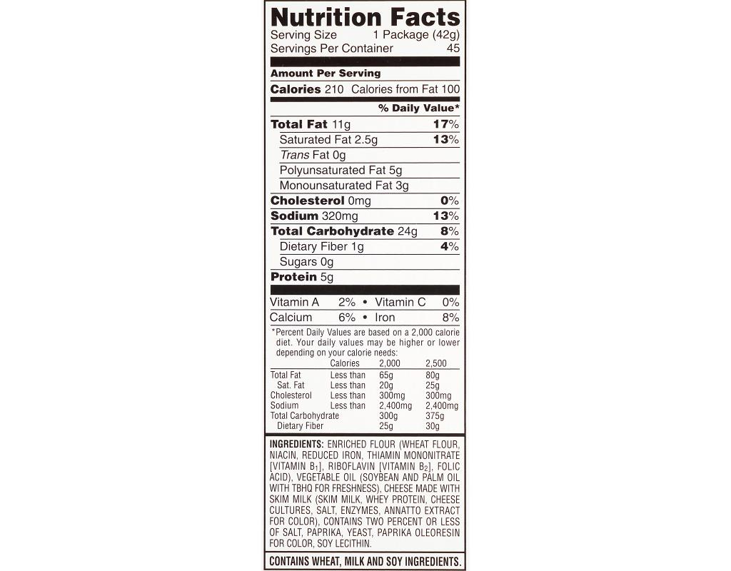 Cheez-It | Baked Snack Crackers, 1.5 oz