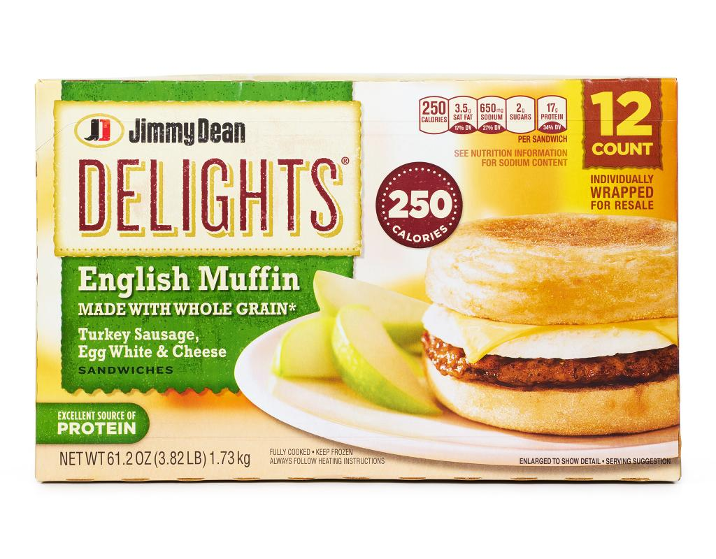 Jimmy Dean Delights English Muffins 12