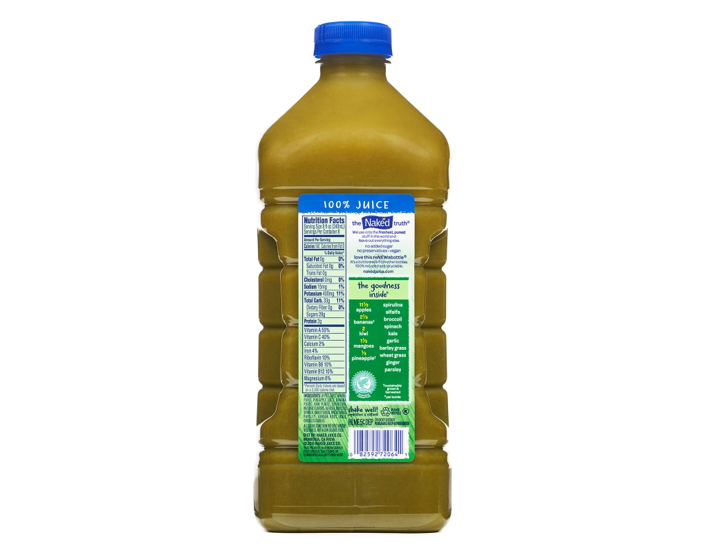 Naked Juice Boosted Smoothie, Power-C Machine, 15.2 oz