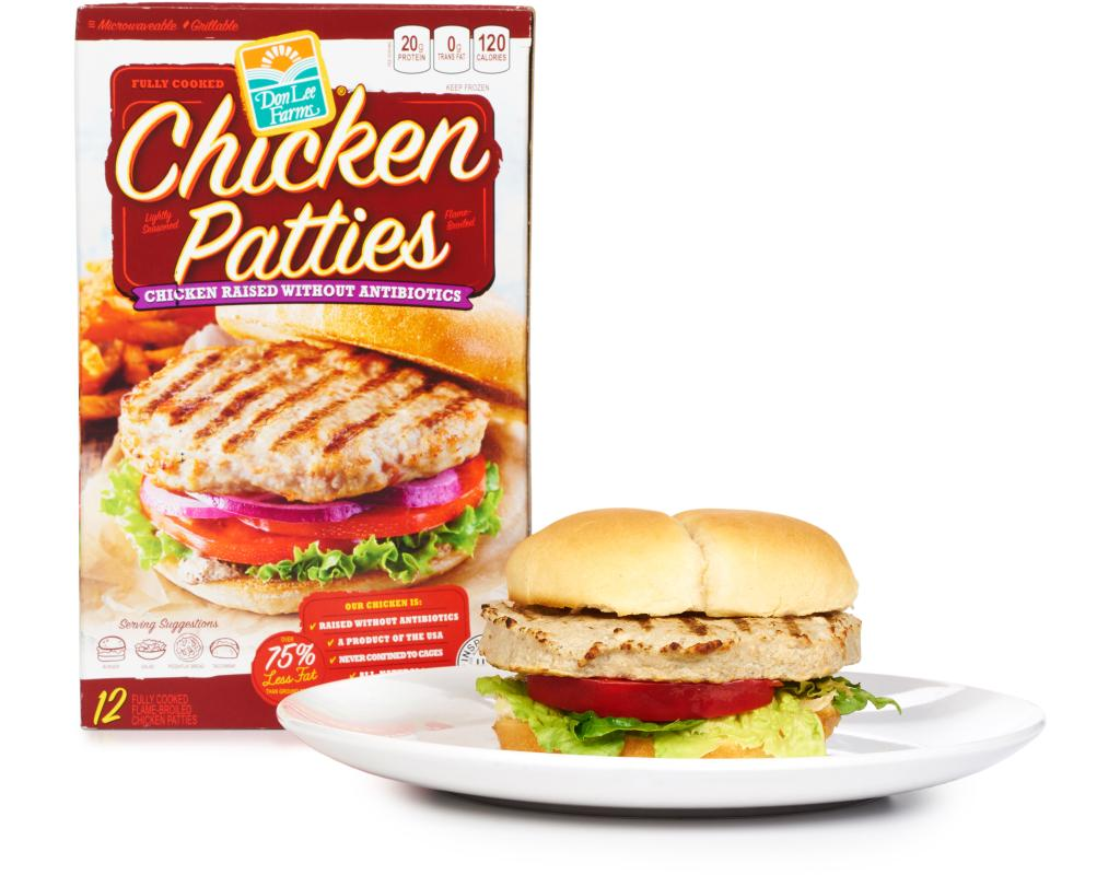 Don Lee Farms Grilled Chicken Patties