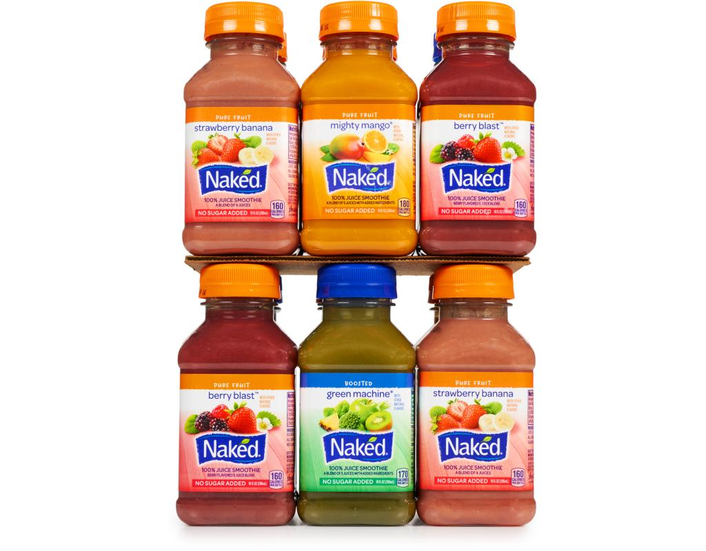 Naked Juice Smoothies 12 x 10 oz. - Variety Pack   Boxed