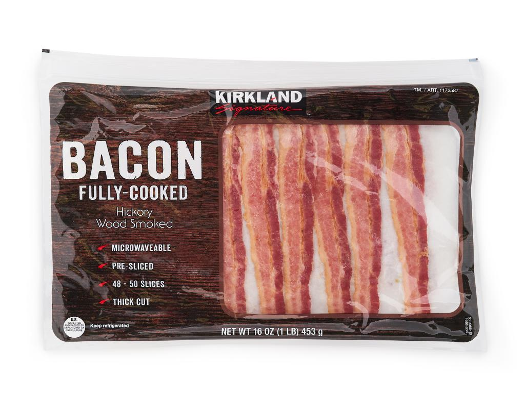 Kirkland Fully Cooked Bacon 16 Oz