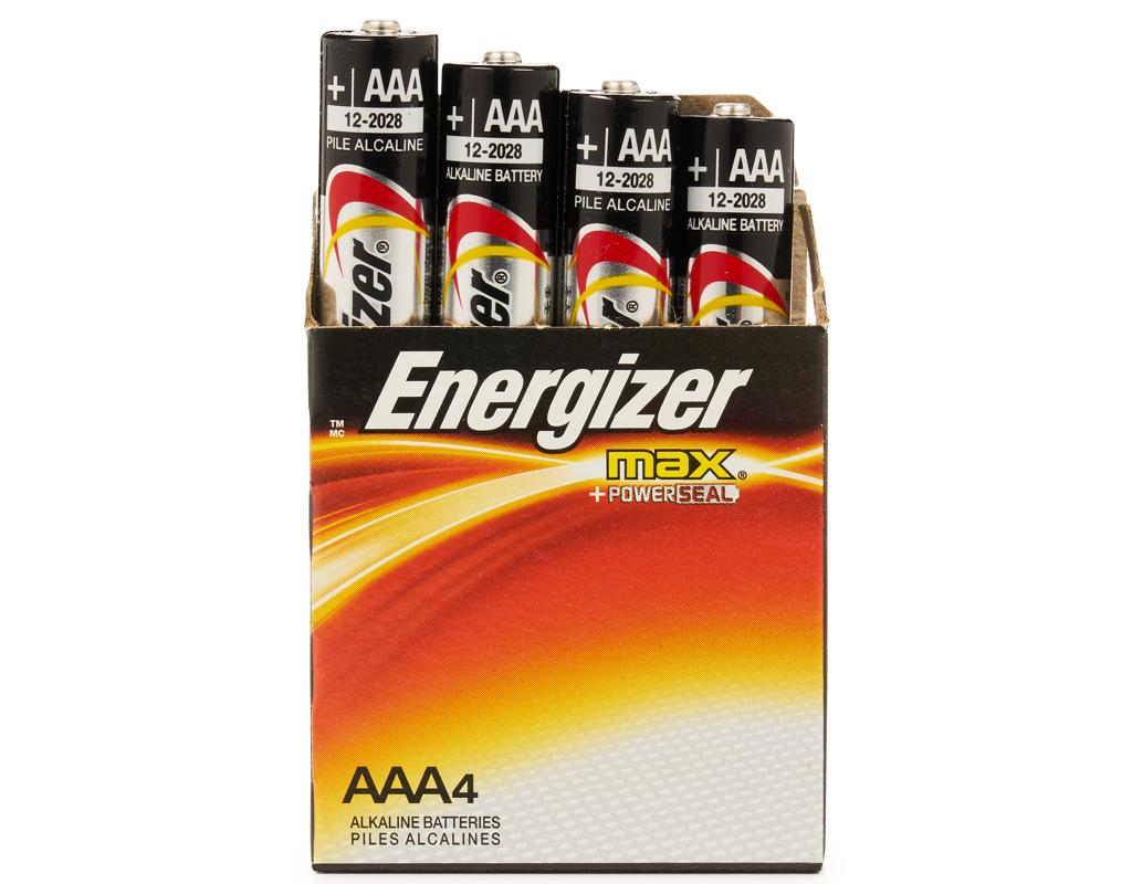 Energizer Max Aaa Batteries Alkaline Batteries 48 Ct Boxed