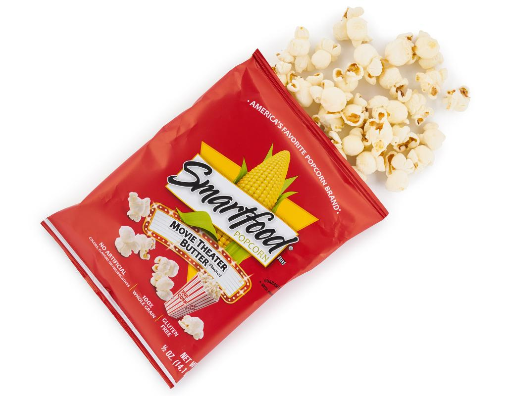 Smartfood Flavored Popcorn 40 X 0 5 Oz Variety Pack Boxed