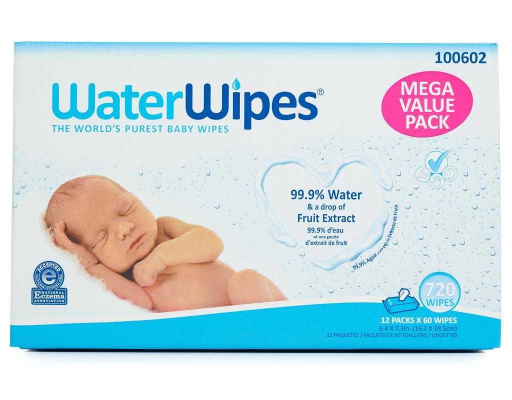 WaterWipes Baby Wipes 60 Wipes by WaterWipes
