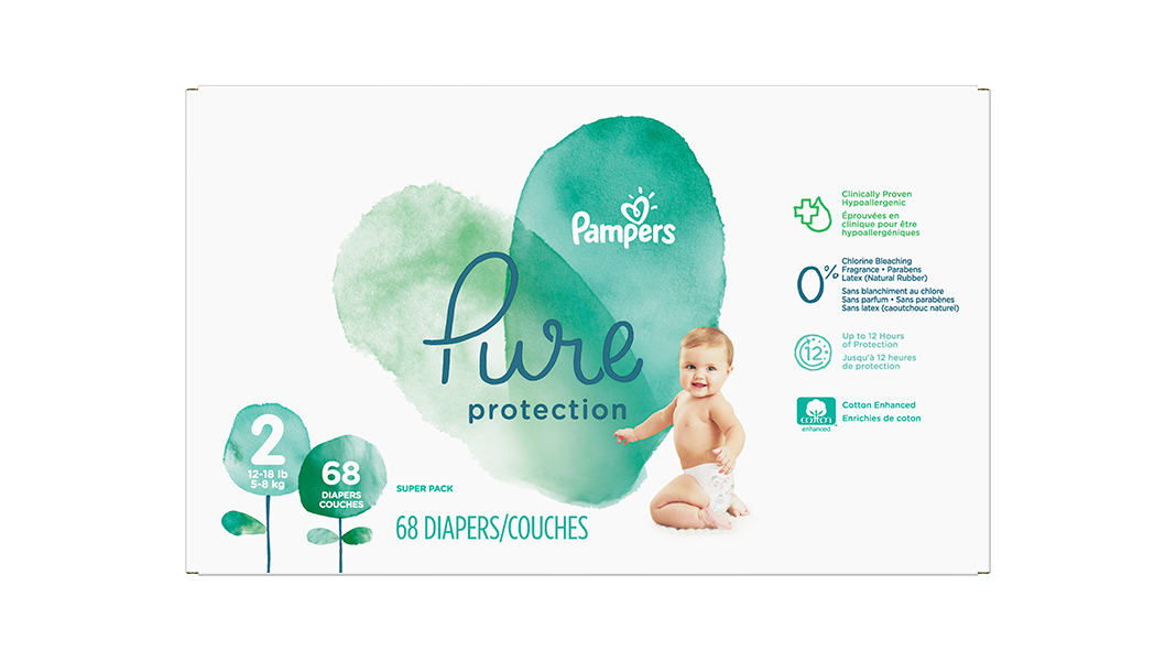 P G Pampers Pure