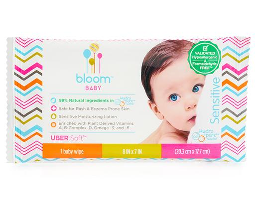 KIND Sensitive Skin Unscented Hypoallergenic Baby Wipes White 20 Count bloom