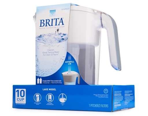 Brita Wave Water Filtration System 1 Pitcher 2 Filters