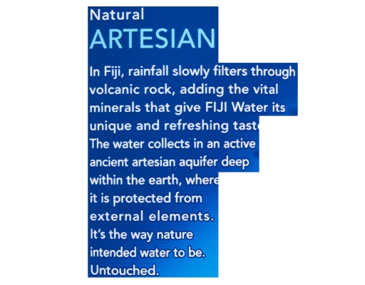 Fiji Natural Artesian Water Wholesale 24 Count X 16 9 Oz Boxed