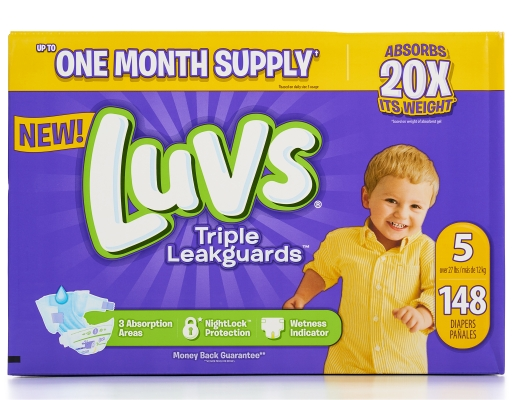 Size 5 Diapers, 148 count