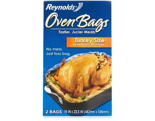 S] Reynolds Kitchens Turkey Size Oven Bags 2 Ct. - 19\