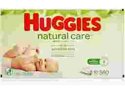 Huggies - Natural Care Plus Wipes