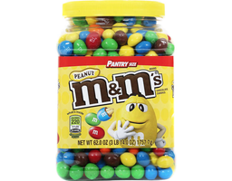 Mars - M&M's Peanut Chocolate Candies Jar