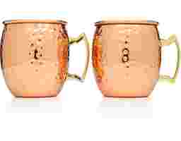 Copper Moscow Mule Mugs Set