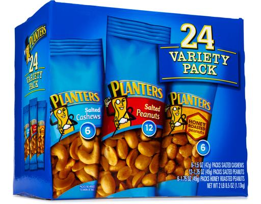 Planters Variety Pack