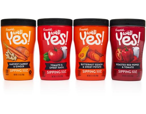 Campbell's Sipping Soup Vegetarian Variety