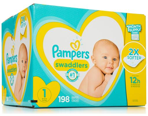 Pampers Swaddlers - Size 1